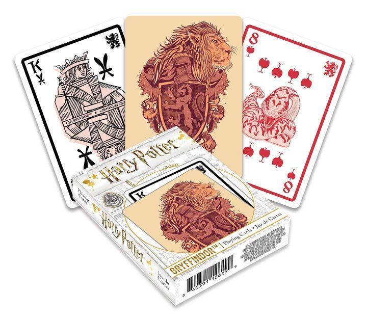 Harry potter jeu de cartes a jouer gryffondor