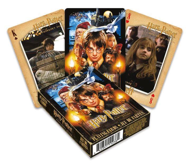 Harry potter jeu de cartes a jouer harry potter a l ecole des sorciers