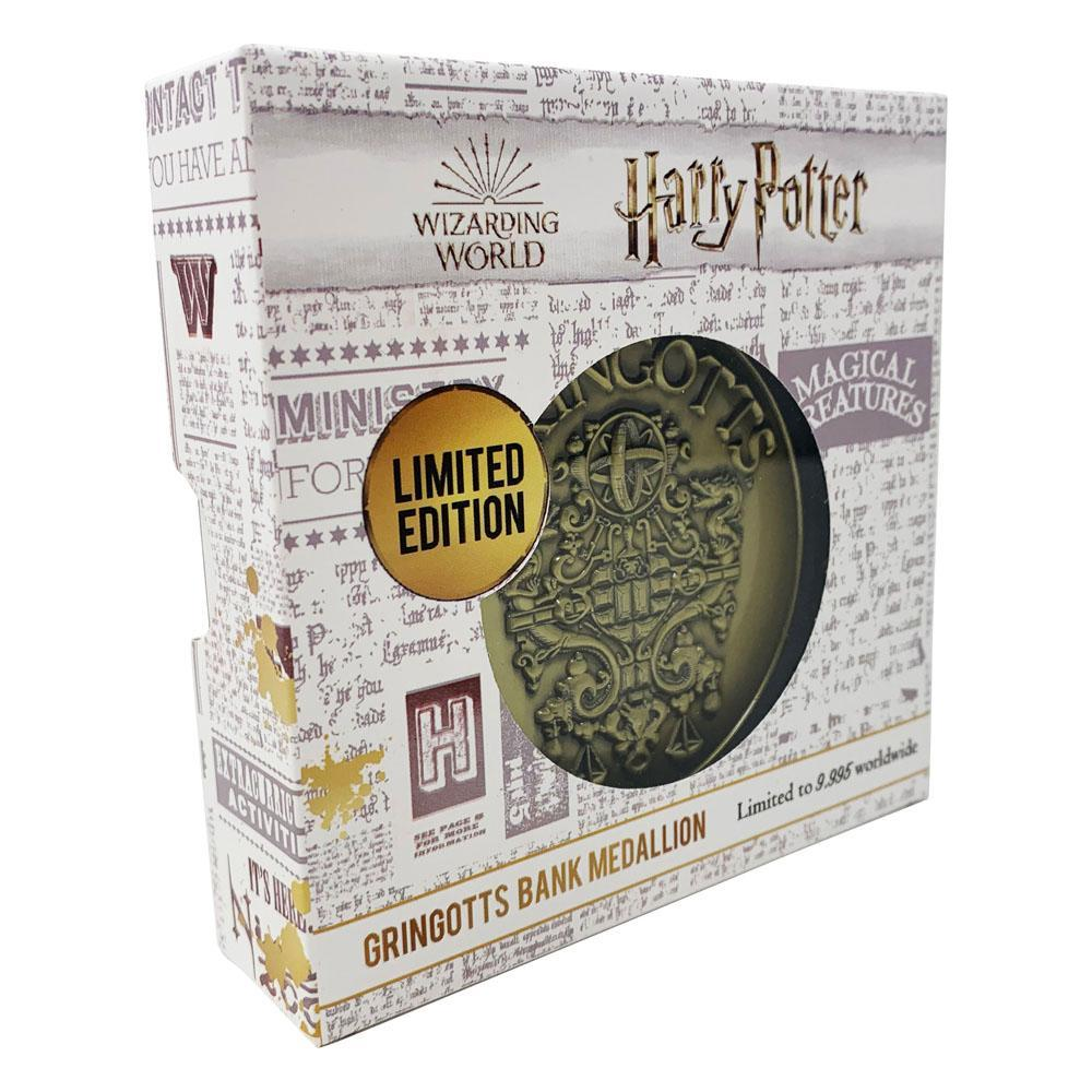 Harry potter medaillon gringotts crest limited edition 2