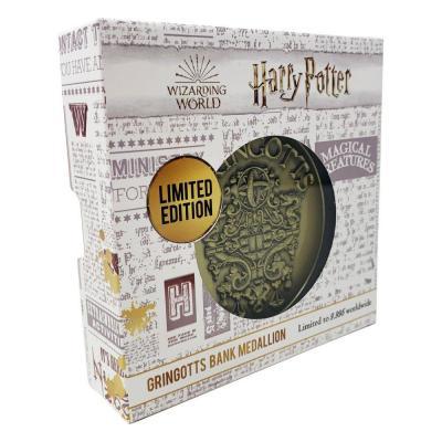 Harry Potter médaillon Gringotts Crest Limited Edition