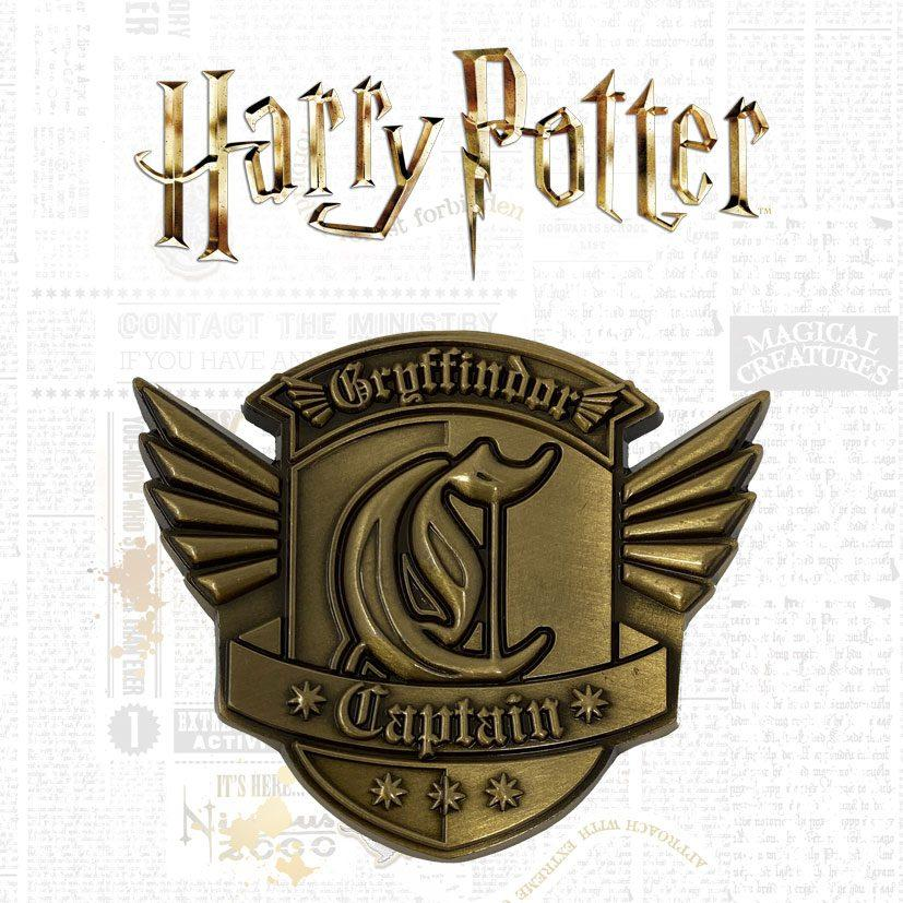Harry potter medaillon gryffindor captain limited edition 1