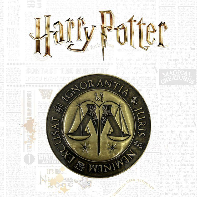 Harry potter medaillon ministry of magic limited edition 1