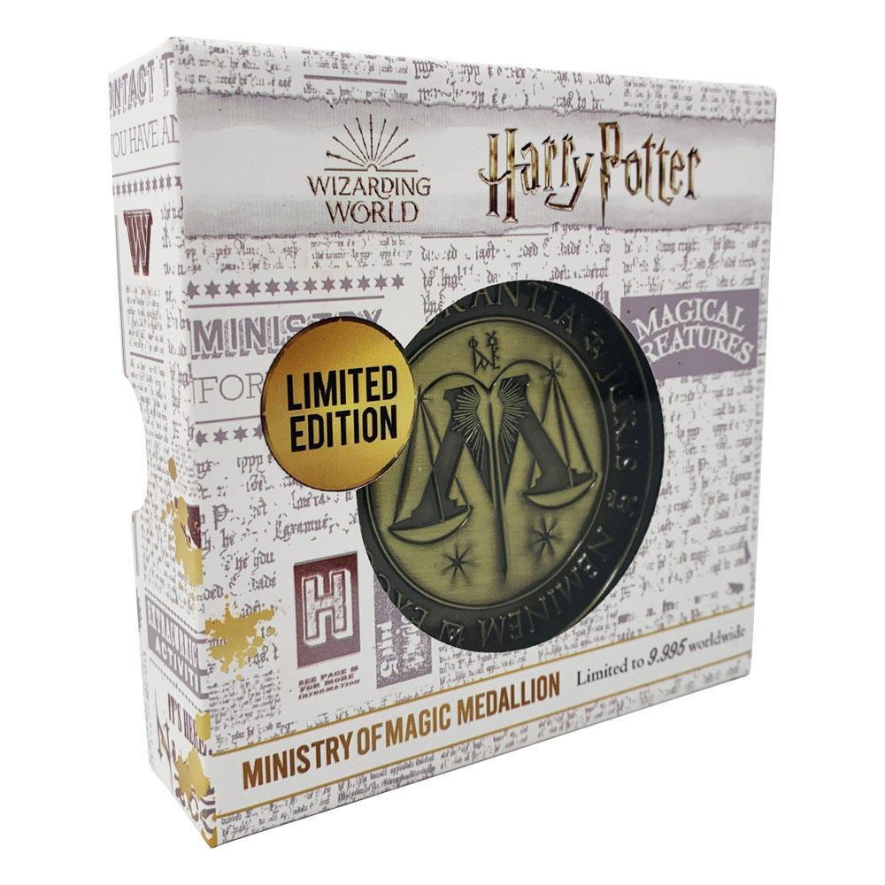 Harry potter medaillon ministry of magic limited edition 2