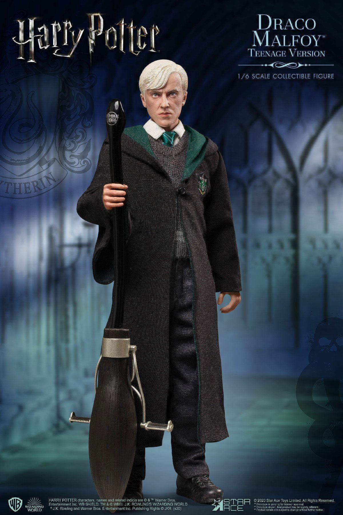 Harry potter my favourite movie figurine 16 draco malfoy teenager deluxe version 26 cm 3
