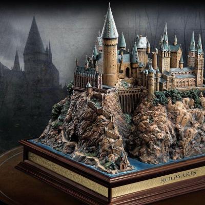 Harry Potter sculpture décor Poudlard résine Noble Collection