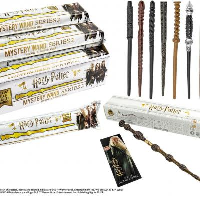 Harry potter serie 2 presentoir repliques baguettes 235985dt