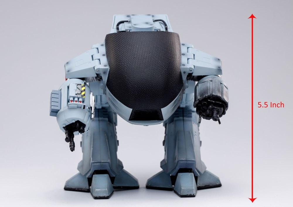 Hiya robocp ed 209 15cm suukoo toys action figurine 9