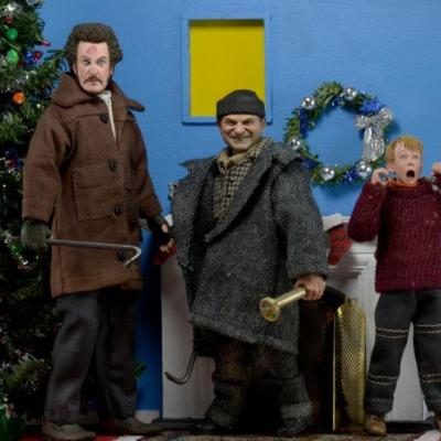 Home Alone - Pack 3 figurines Kévin, Marvin et Harry set Neca