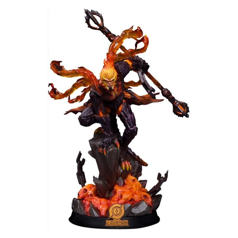 Honor of kings statuette hellfire sun wukong classic version 33 cm 1