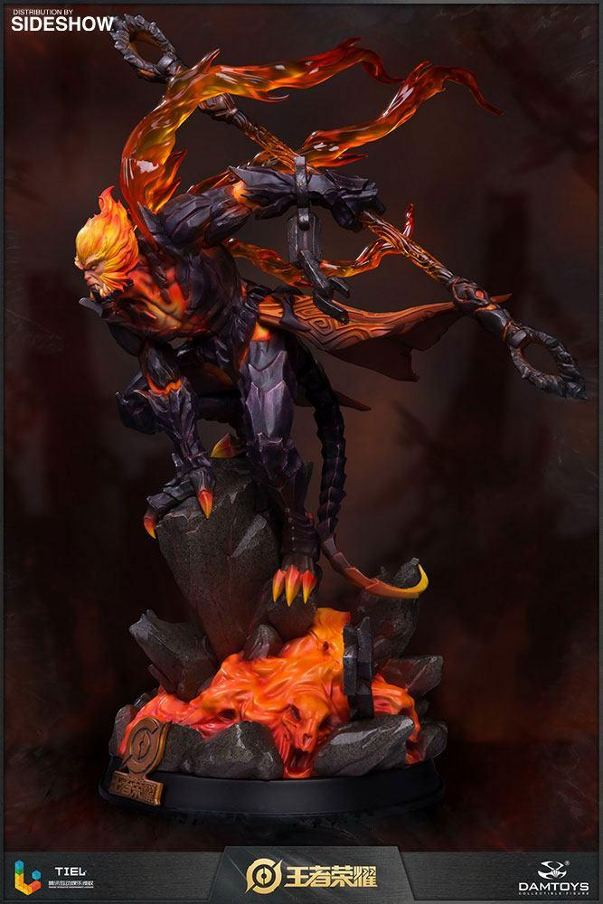 Honor of kings statuette hellfire sun wukong classic version 33 cm 2