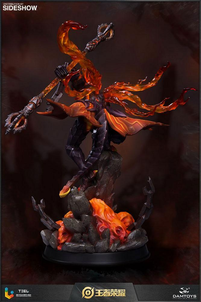 Honor of kings statuette hellfire sun wukong classic version 33 cm 3