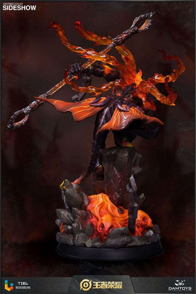 Honor of kings statuette hellfire sun wukong classic version 33 cm 4