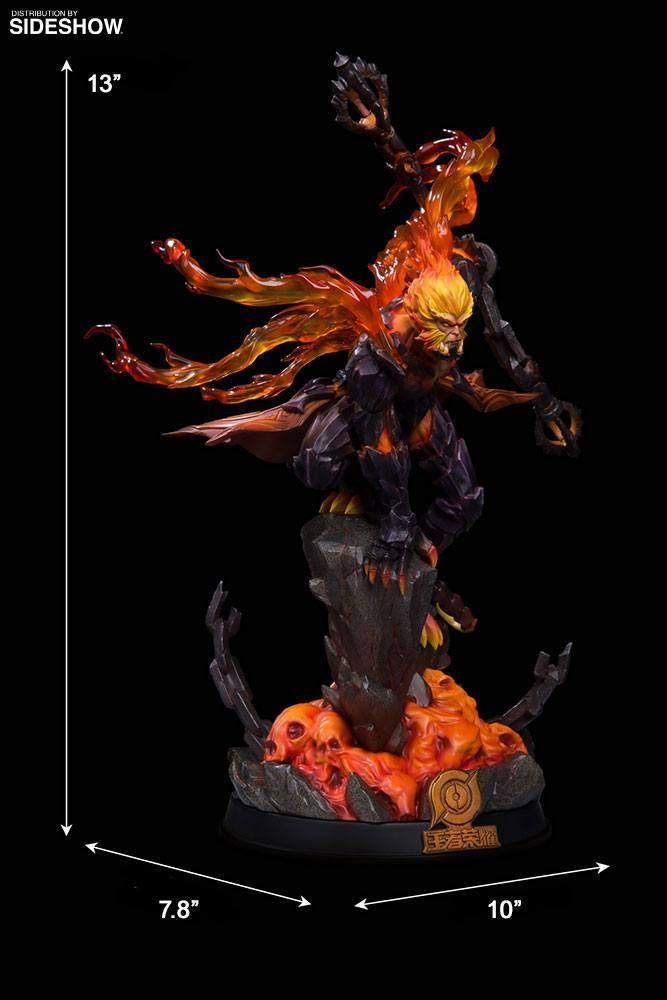 Honor of kings statuette hellfire sun wukong classic version 33 cm 6