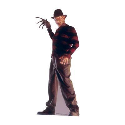 Freddy Krueger 174cm cutout Silhouette Chevalet