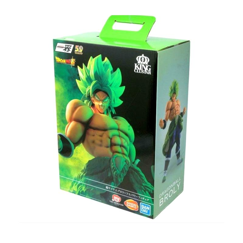 Ichibansho statuette broly ultimate cariation king clustar suukoo toys collection