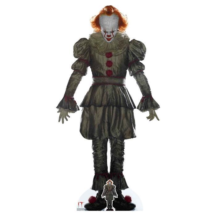 Il est revenu pennywise clown it 192cm cutout silhouette chevalet