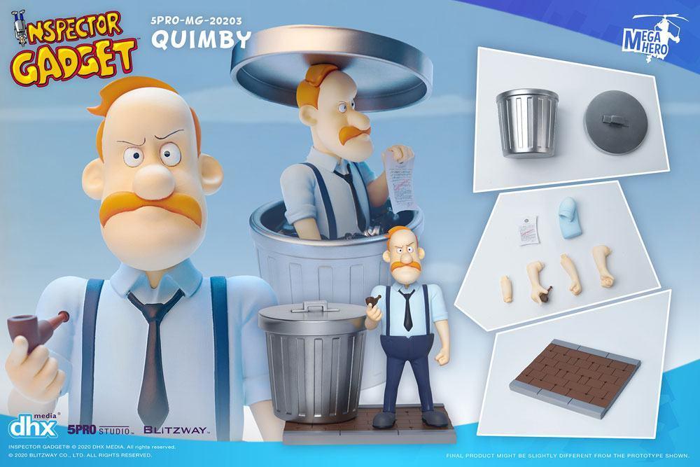 Inspecteur gadget figurine 112 mega hero quimby 13 cm 5