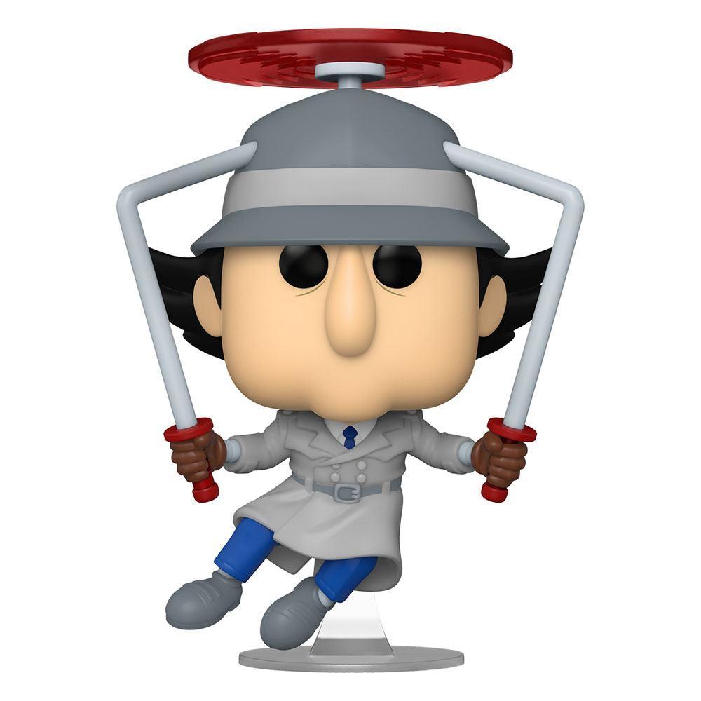 Inspecteur gadget figurine pop animation vinyl inspector gadget flying 9 cm 1