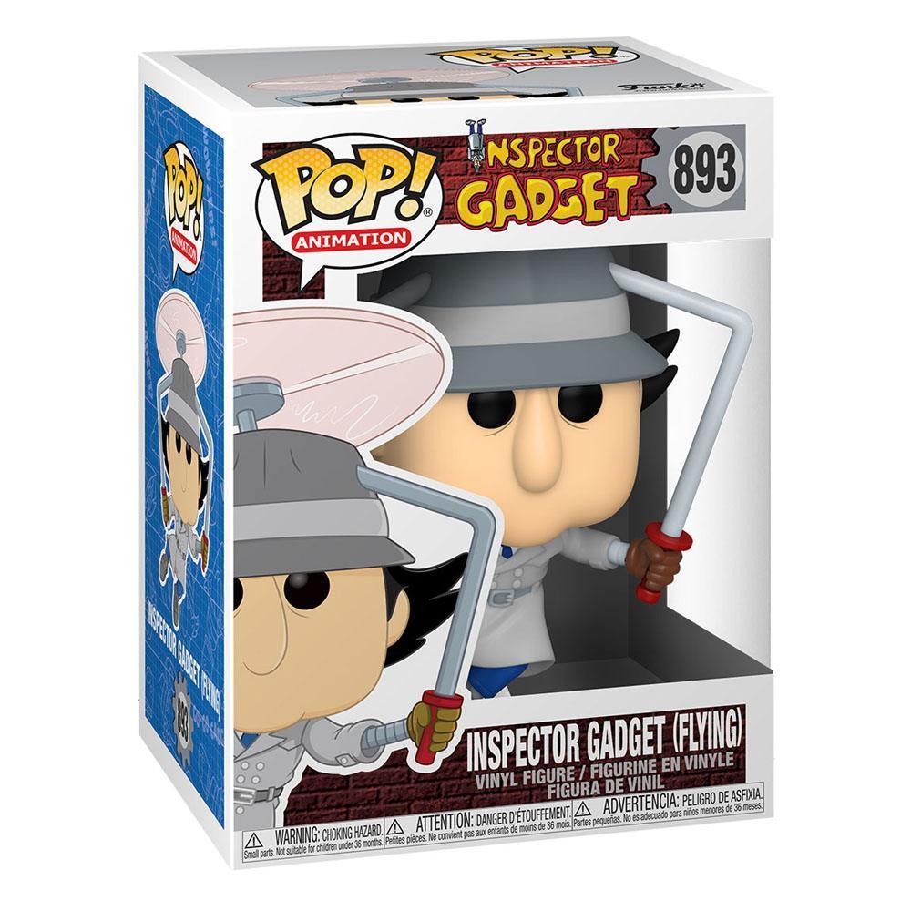 Inspecteur gadget figurine pop animation vinyl inspector gadget flying 9 cm 2