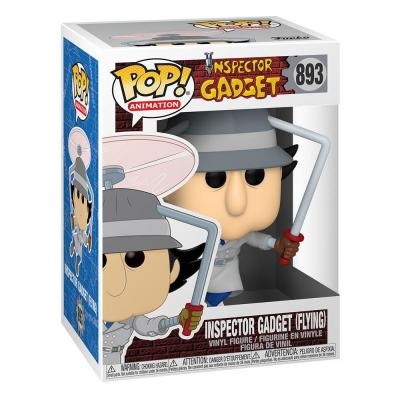 Inspecteur Gadget Figurine POP! Animation Vinyl Inspector Gadget Flying 9 cm