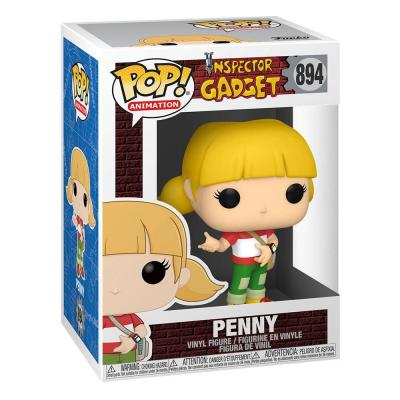 Inspecteur gadget figurine pop animation vinyl penny 9 cm 2