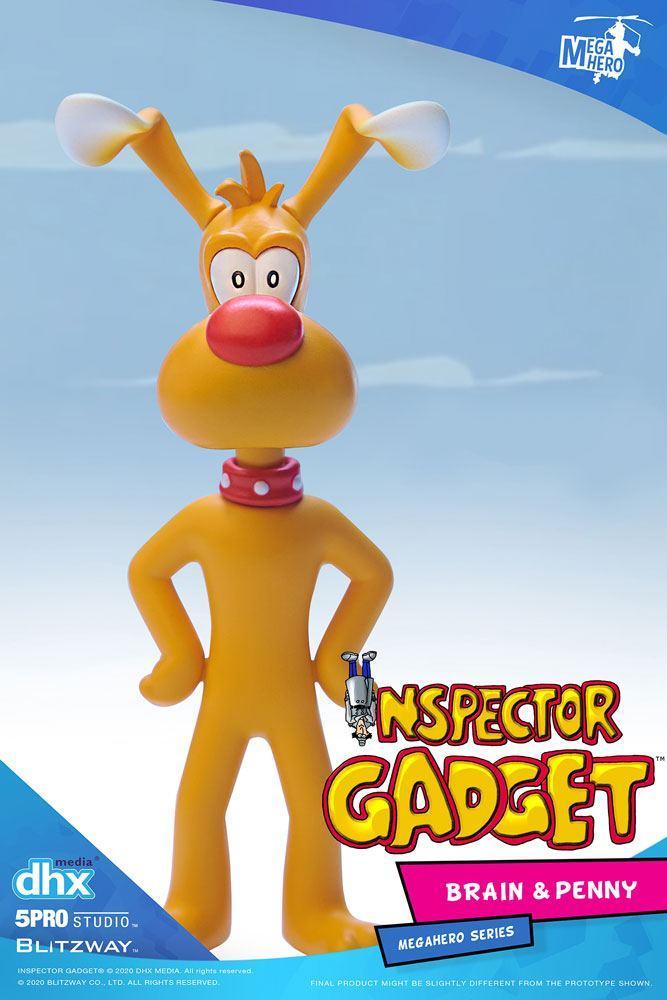 Inspecteur gadget pack 2 figurines 112 brain penny 11 cm 5