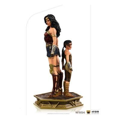 statuette 1/10 Wonder Woman & Young Diana 20 cm Deluxe Art Scale Wonder Woman 1984 Iron studios