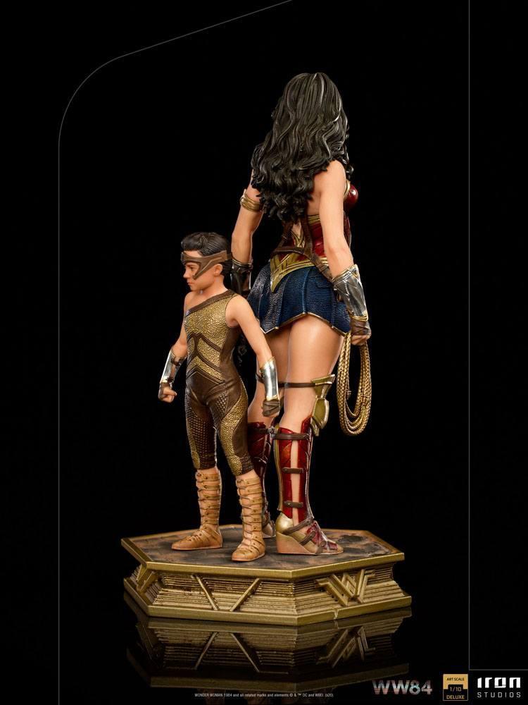 Iron studio wonder woman deluxe scale 1 statuette 6