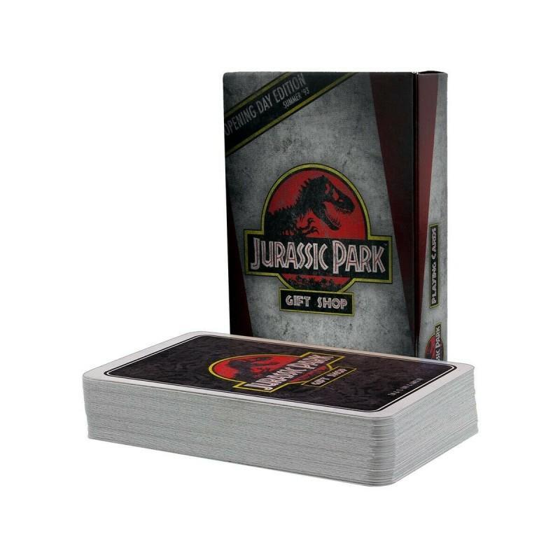 Jeu de cartes jurassic park