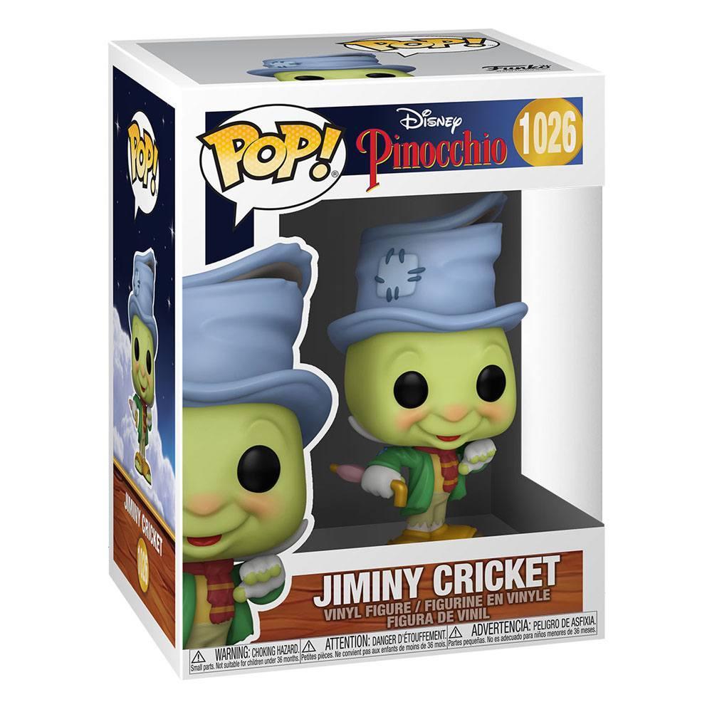 Jiminy pop funko disney suukoo toys