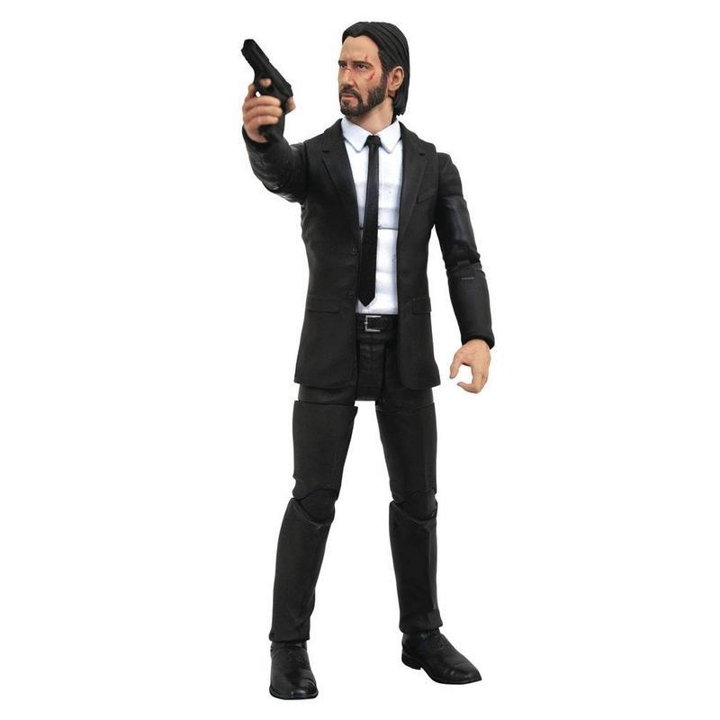 John wick select figurine 18 cm