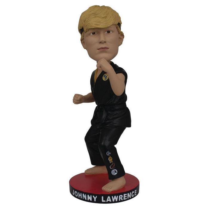 Johnny laurence karate kid cobra kai bubble head resine icon heroes