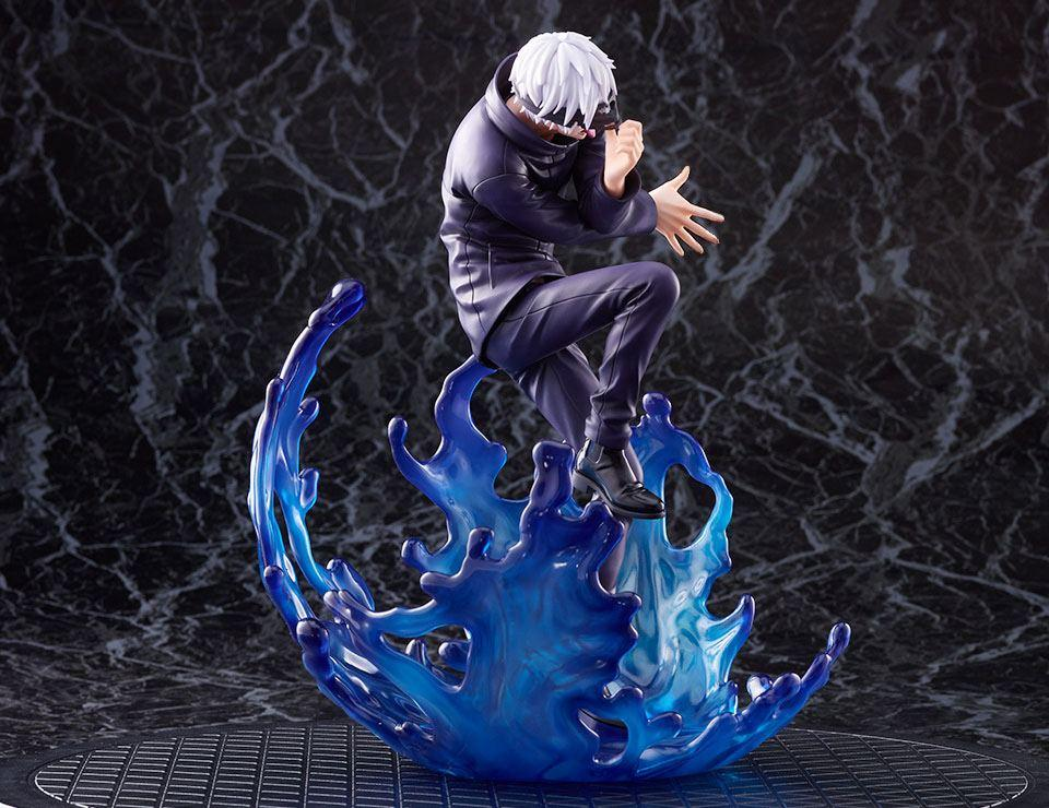 Jujutsu kaisen statuette satoru gojo suukoo toys figurine 5