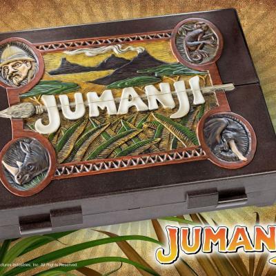 Jumanji réplique 1/1 jeu de plateau 41cm