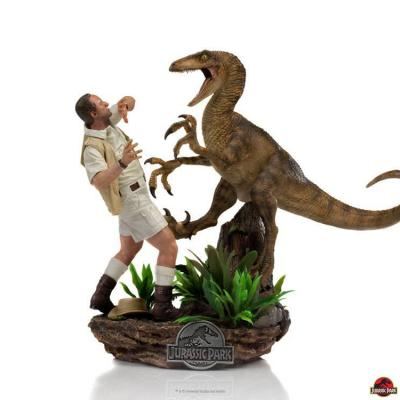 Jurassic Park Statuette 1/10 Deluxe Art Scale Clever Girl 25 cm