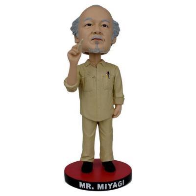 Karate Kid Bobble Head figurine Mr. Miyagi 20 cm
