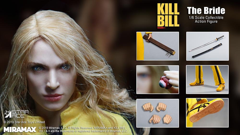 Kill bill figurine 30cm 3