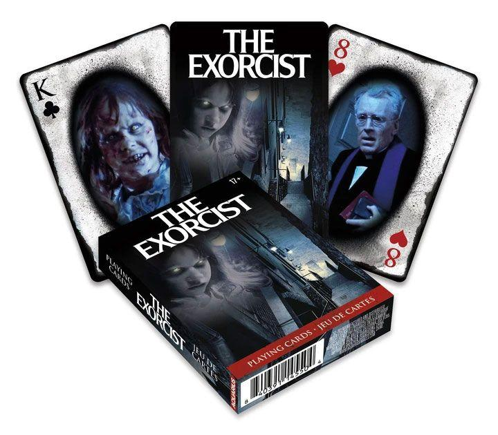 L exorciste jeu de cartes a jouer movie