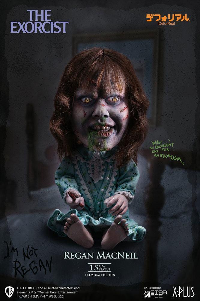 L exorciste statuette defo real series regan macneil 15 cm 1