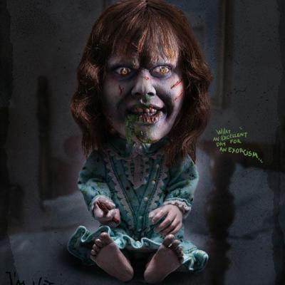 L'Exorciste statuette Defo-Real Series Regan MacNeil 15 cm - édition limitée