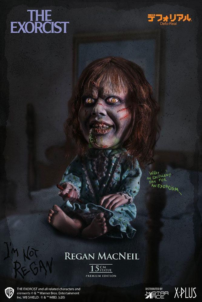 L exorciste statuette defo real series regan macneil 15 cm 2