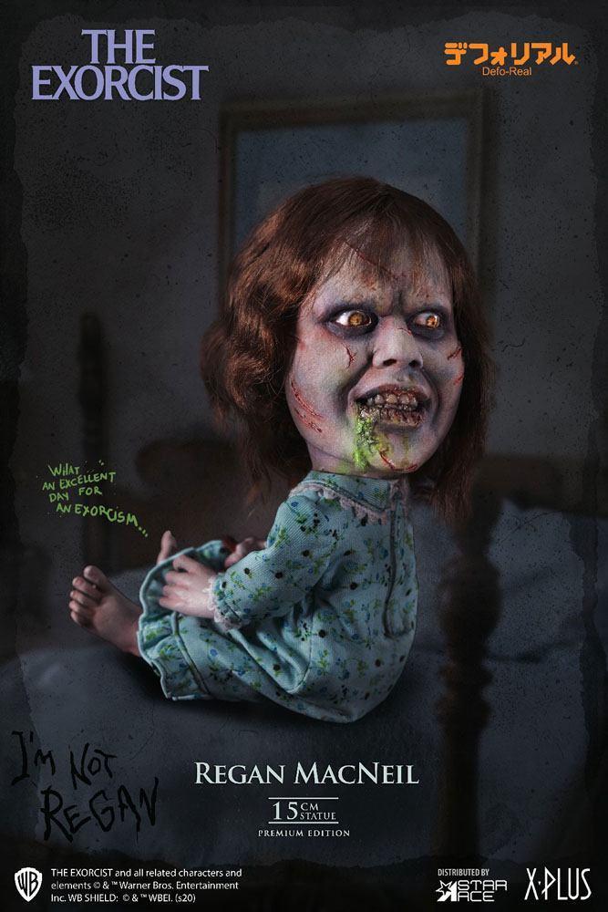 L exorciste statuette defo real series regan macneil 15 cm 5