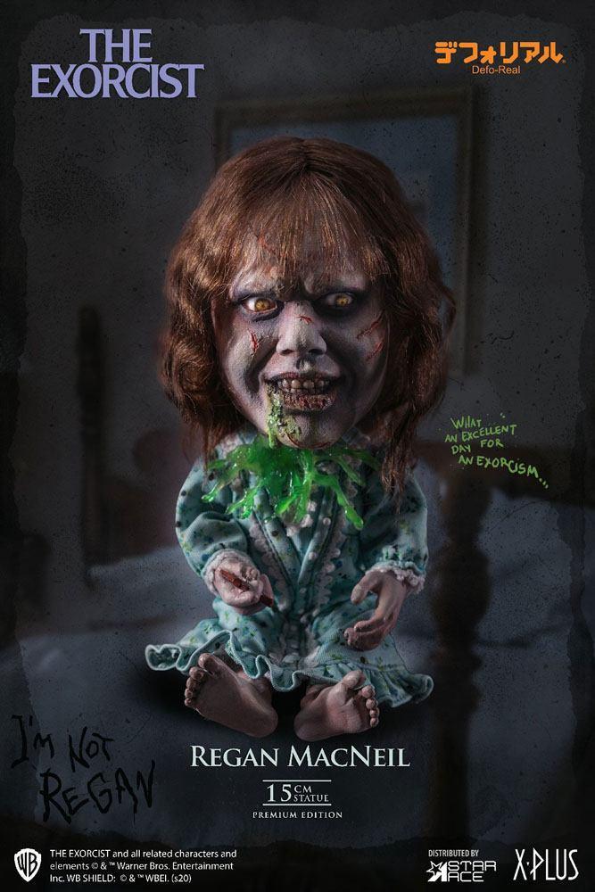 L exorciste statuette defo real series regan macneil 15 cm 6