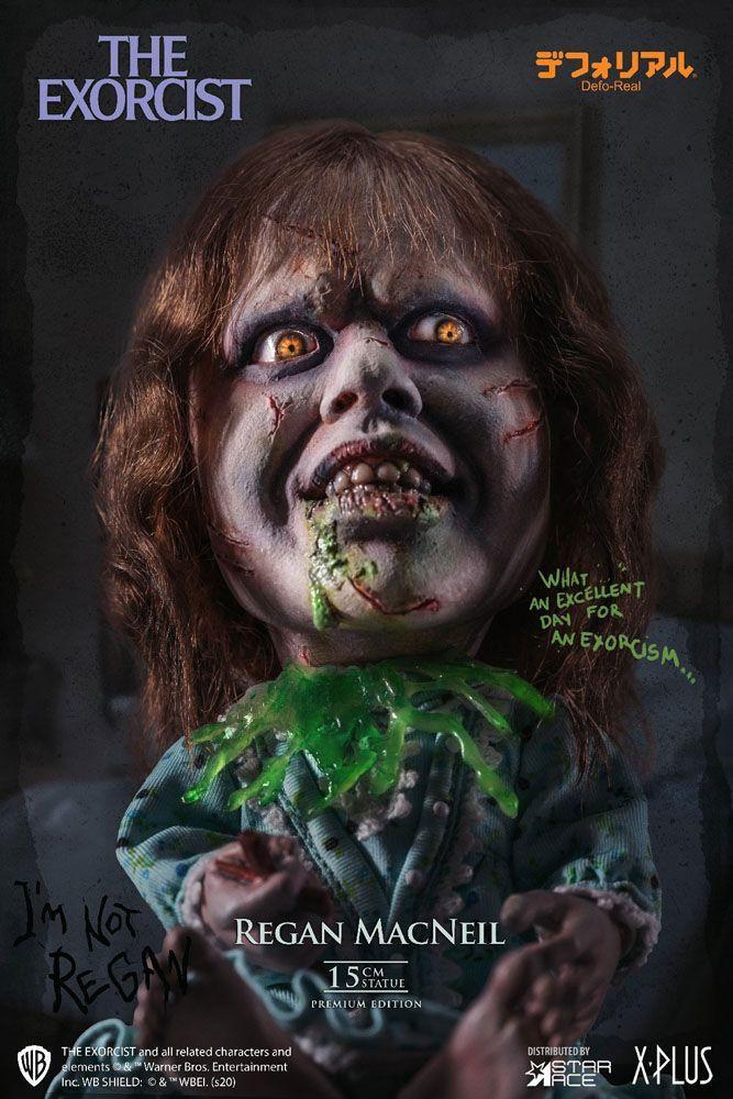 L exorciste statuette defo real series regan macneil 15 cm 7