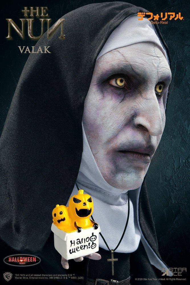 La nonne figurine defo real series valak halloween version 15 cm 2