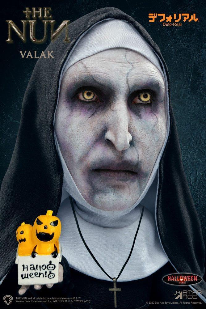 La nonne figurine defo real series valak halloween version 15 cm 4