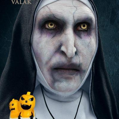 La nonne figurine defo real series valak halloween version 15 cm 4
