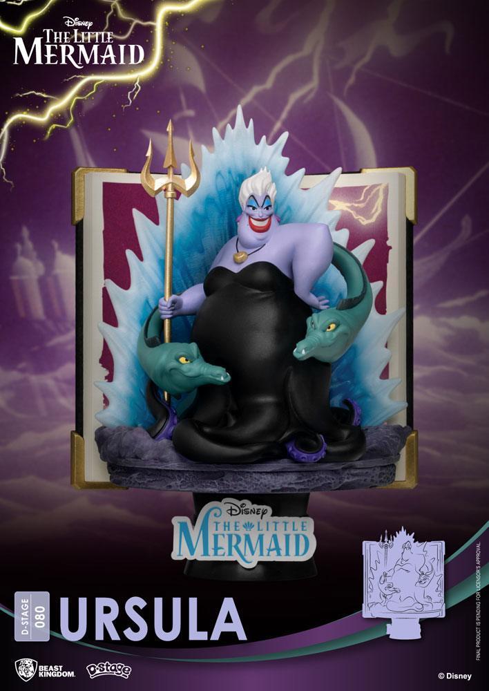 La petite sirene diorama ursula suukoo toys figurine disney