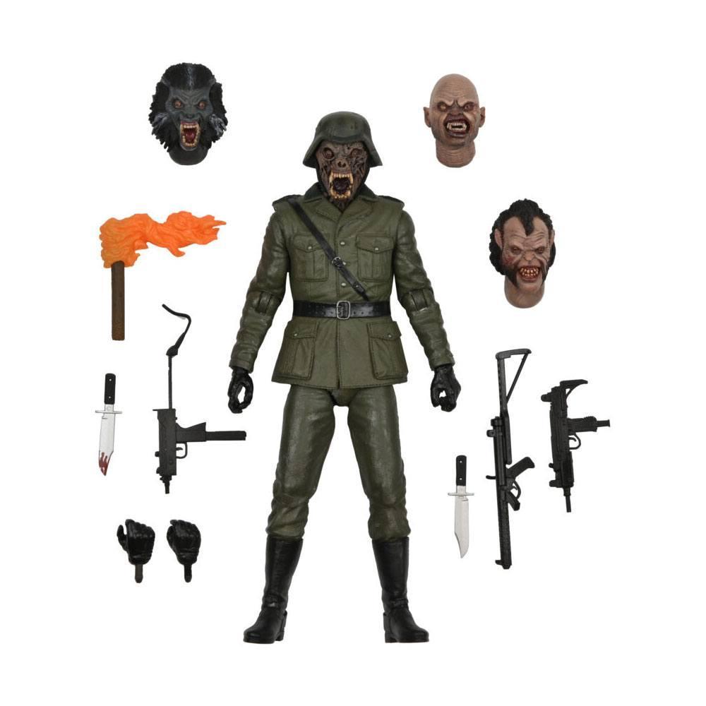 Le loup garou de londres figurine neca suukoo toys collector 1