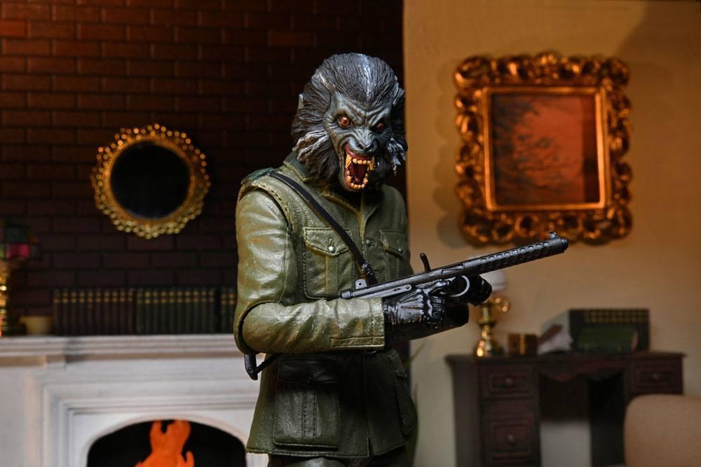 Le loup garou de londres figurine neca suukoo toys collector 5